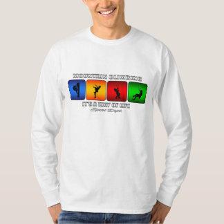 Camiseta Escalada fresca es una manera de vida