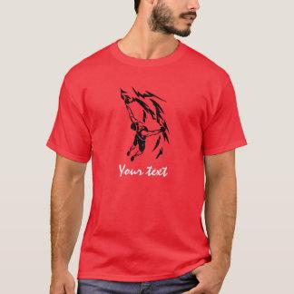 Camiseta Escalada roja