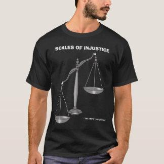 Camiseta Escalas de los chistes antis del abogado de la
