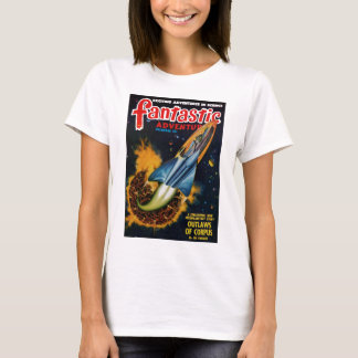 Camiseta Escape del planeta de estallido