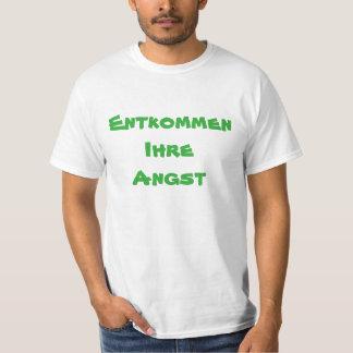Camiseta Escape su anxie en alemán