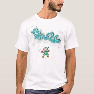 Camiseta Escarchado el hombre de la pintada II