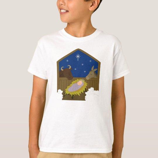Camiseta Escena del pesebre