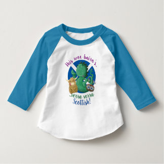 Camiseta Escocés de Verra Verra de este niño pequenito