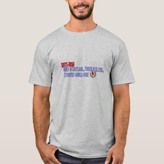 Camiseta Escocés-Irlandés: Minado en Escocia, forjada en