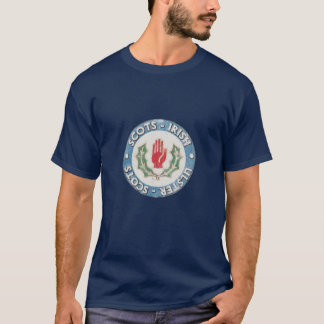 Camiseta Escocés-Irlandés/Ulster-Escocés (diseño apenado)