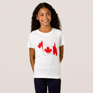 Camiseta Escocés Terrier Canadá