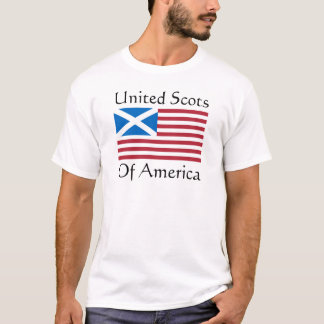Camiseta Escocés unida de América