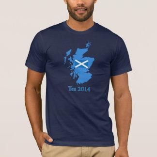 Camiseta escocesa 2014 del referéndum