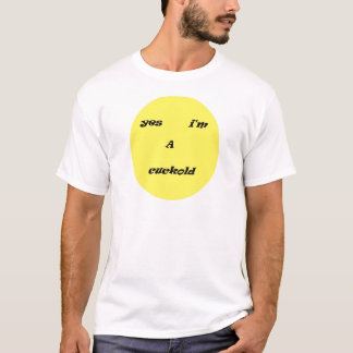Camiseta escoda i am cuckold