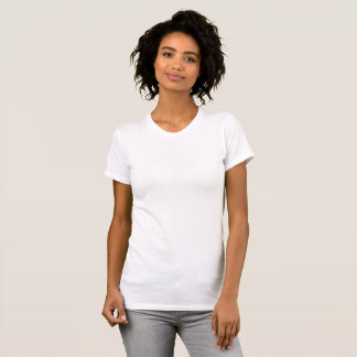 Camiseta Escote Redondo De Mujeres Grande Personalizable