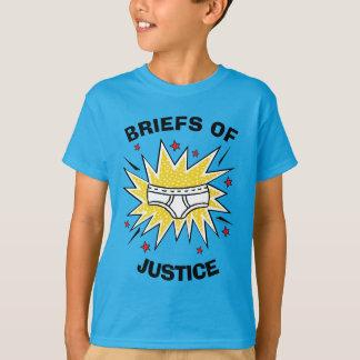 Camiseta Escritos de capitán Underpants el | de la justicia