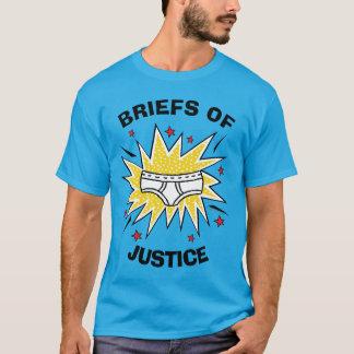 Camiseta Escritos de capitán Underpants el   de la justicia