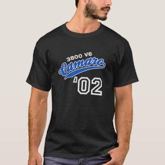 Camiseta Escritura 2002 de Camaro