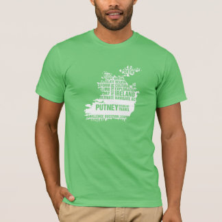 Camiseta Escritura en Irlanda en colores múltiples