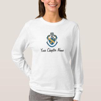 Camiseta Escudo de armas de la alfa de la phi de la theta