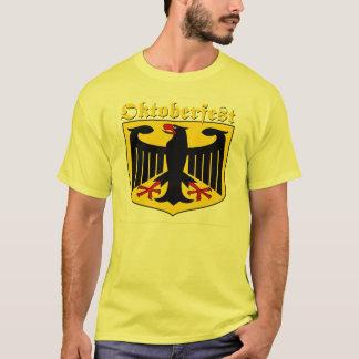 Camiseta Escudo de armas del alemán de Oktoberfest