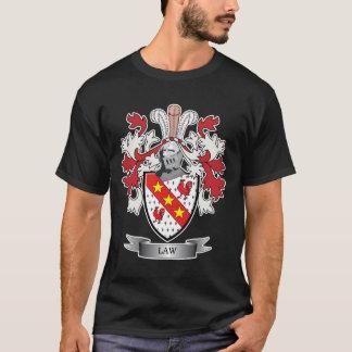 Camiseta Escudo de armas del escudo de la familia de la ley