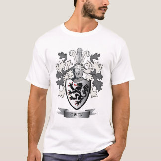 Camiseta Escudo de armas del escudo de la familia de Owen