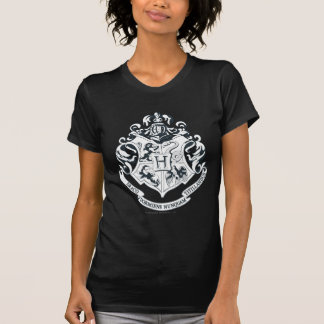 Camiseta Escudo de Harry Potter el | Hogwarts - blanco y