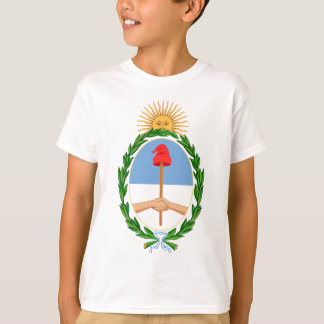 Camiseta Escudo de la Argentina - escudo de armas de la