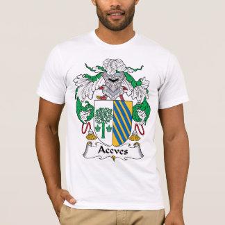 Camiseta Escudo de la familia de Aceves