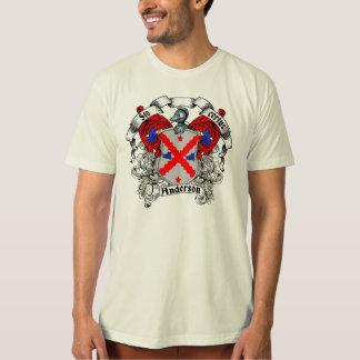 Camiseta Escudo de la familia de Anderson