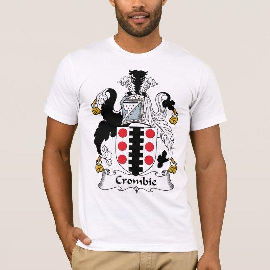 Camiseta Escudo de la familia de Crombie