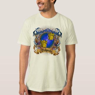 Camiseta Escudo de la familia de Delgado