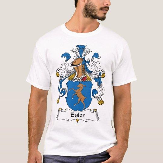 Camiseta Escudo de la familia de Euler