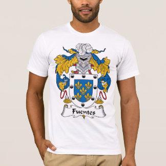 Camiseta Escudo de la familia de Fuentes