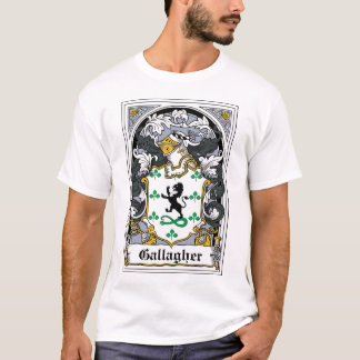 Camiseta Escudo de la familia de Gallagher