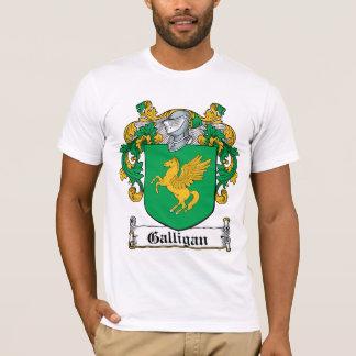 Camiseta Escudo de la familia de Galligan