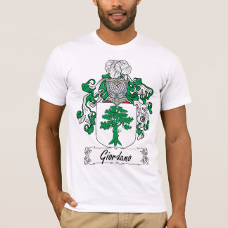 Camiseta Escudo de la familia de Giordano