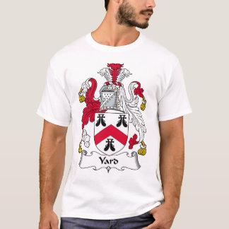 Camiseta Escudo de la familia de la yarda