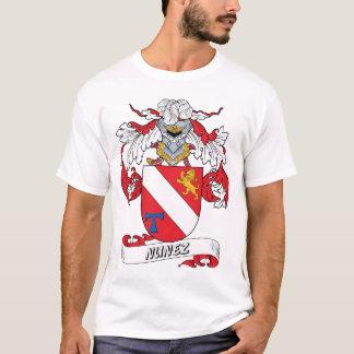 Camiseta Escudo de la familia de Núñez