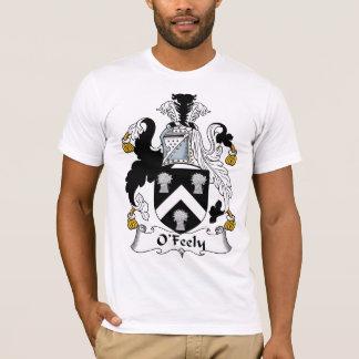 Camiseta Escudo de la familia de O'Feely