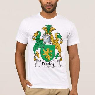 Camiseta Escudo de la familia de Peasley