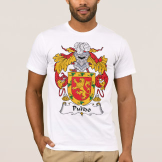 Camiseta Escudo de la familia de Pulido
