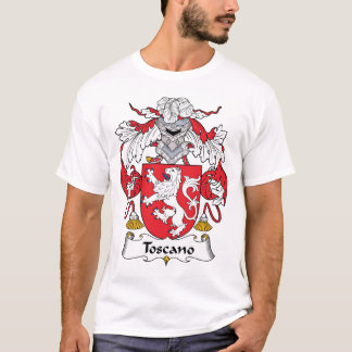Camiseta Escudo de la familia de Toscano