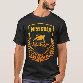 Camiseta Escudo de Missoula Parkour