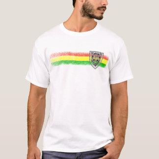 Camiseta Escudo del reggae de Rasta de David