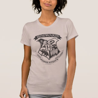 Camiseta Escudo retro de Harry Potter el | Hogwarts
