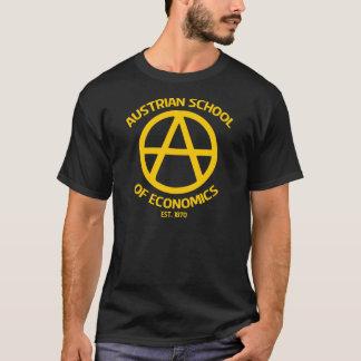 Camiseta Escuela austríaca del capitalismo de Anarcho de la