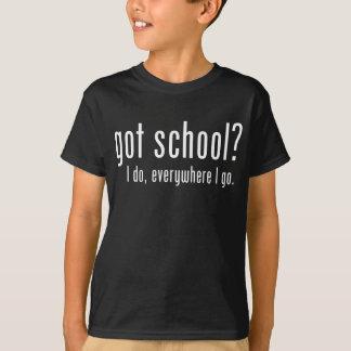 Camiseta ¿Escuela conseguida?