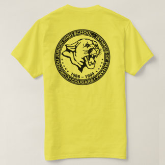 Camiseta Escuela de secundaria de Curundu, República de