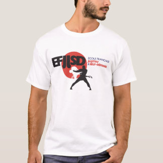 Camiseta Escuela Francesa de JuJitsu y Bobina-Defensa