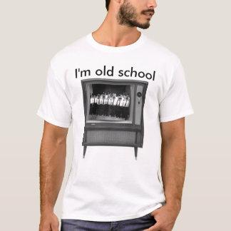 Camiseta escuela vieja