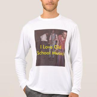 Camiseta, escuela vieja camiseta
