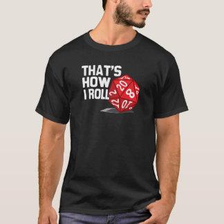 Camiseta Ése es cómo ruedo